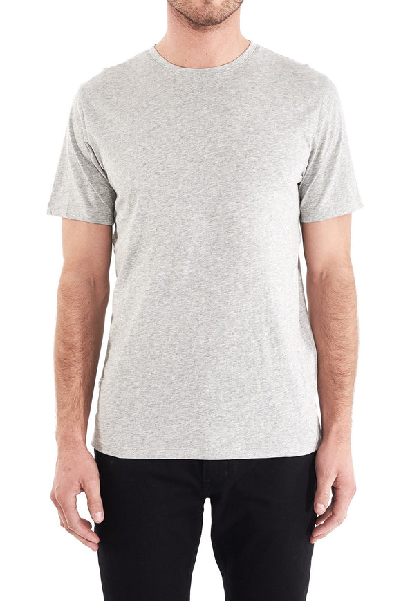 NEUW BASS TEE GREY MARLE