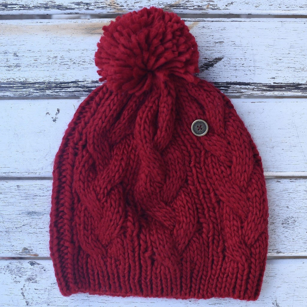 THE CONSCIOUSNESS BEANIE RED