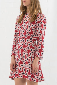 Rollas WOMENS OASIS DRESS RED DAISY - Elwood 101