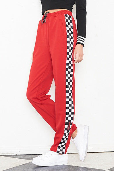 Nana Judy  WOMENS DISNEY BLAIR PANT RED - Elwood 101