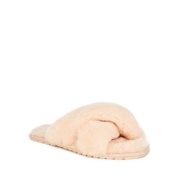 Emu Australia WOMENS MAYBERRY SHEEPSKIN SLIPPERS - NATURAL