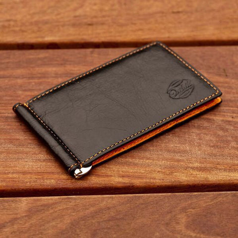 CAPTAIN CLIP WALLET BLACK / ORANGE