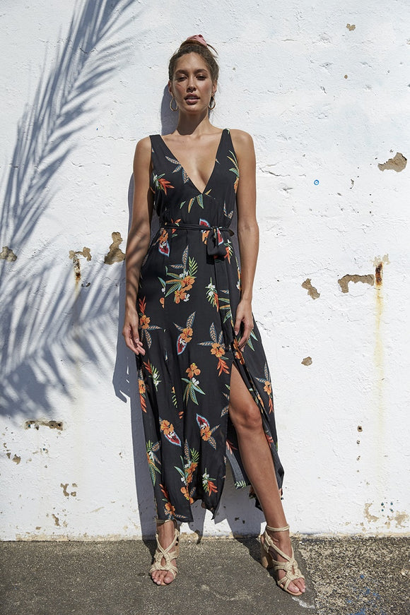 Mink Pink SUNKISSED RESORT MAXI DRESS