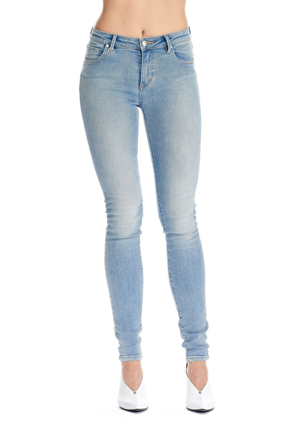 Neuw WOMENS BOWERY MID RISE SKINNY JEANS CANNES