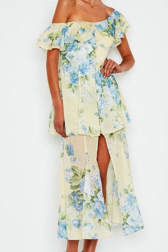 ALICE McCALL FLAWLESS DRESS BUTTER BLOSSOM