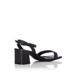 Alias Mae HEIDI BLACK LEATHER HEELS - Elwood 101