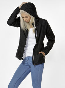 BETTY BASICS DEXTER RAIN JACKET BLACK