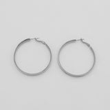 Jolie & Deen WOMENS TILLY HOOPS EARRINGS - SILVER...FREE POSTAGE Details Below - Elwood 101
