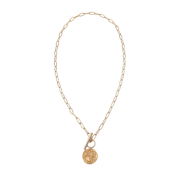Jolie & Deen WOMENS ANITA NECKLACE - GOLD