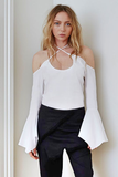 Maurie & Eve LADY DON'T MIND TOP WHITE
