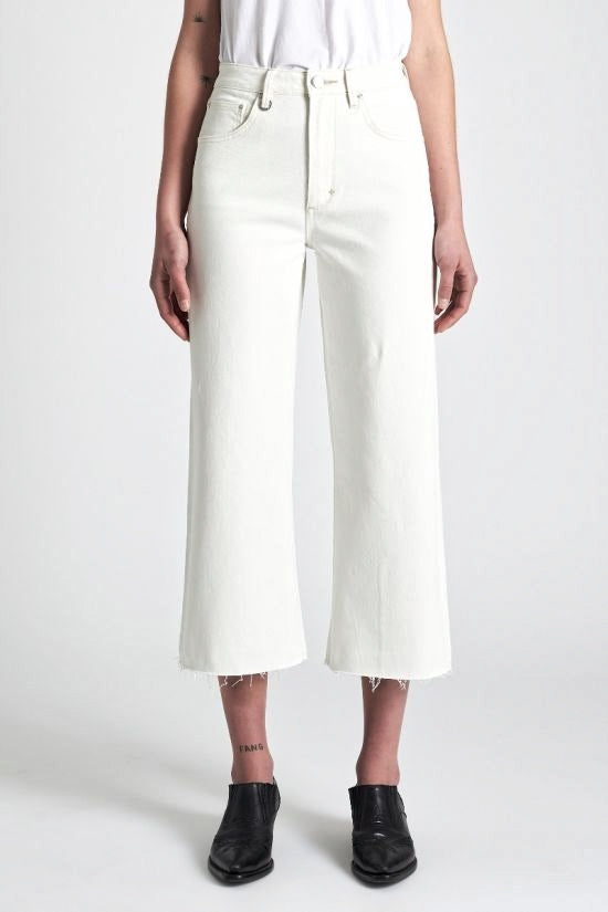 Neuw WOMENS PIXIE CULOTTES WHITE HAVEN - Elwood 101