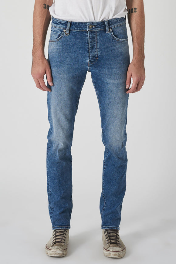 Neuw MENS LOU SLIM JEANS POLYMER BLUE...Last Ones Available - Elwood 101