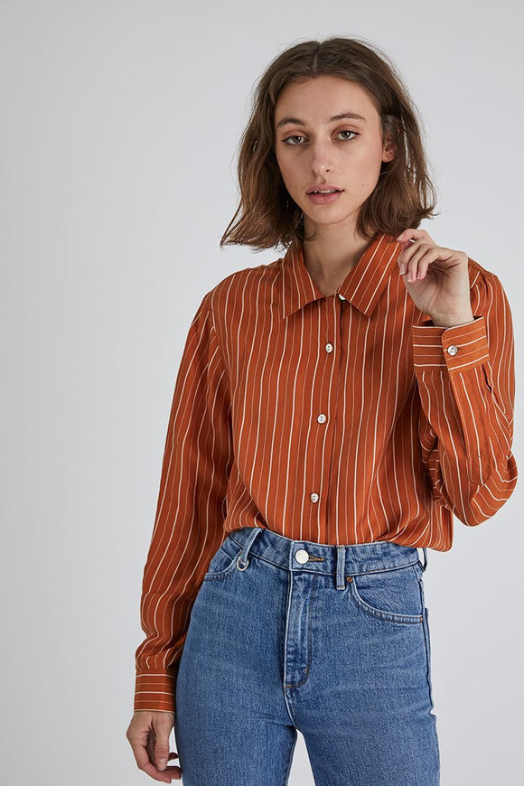Neuw WOMENS RUSTY SHIRT COGNAC