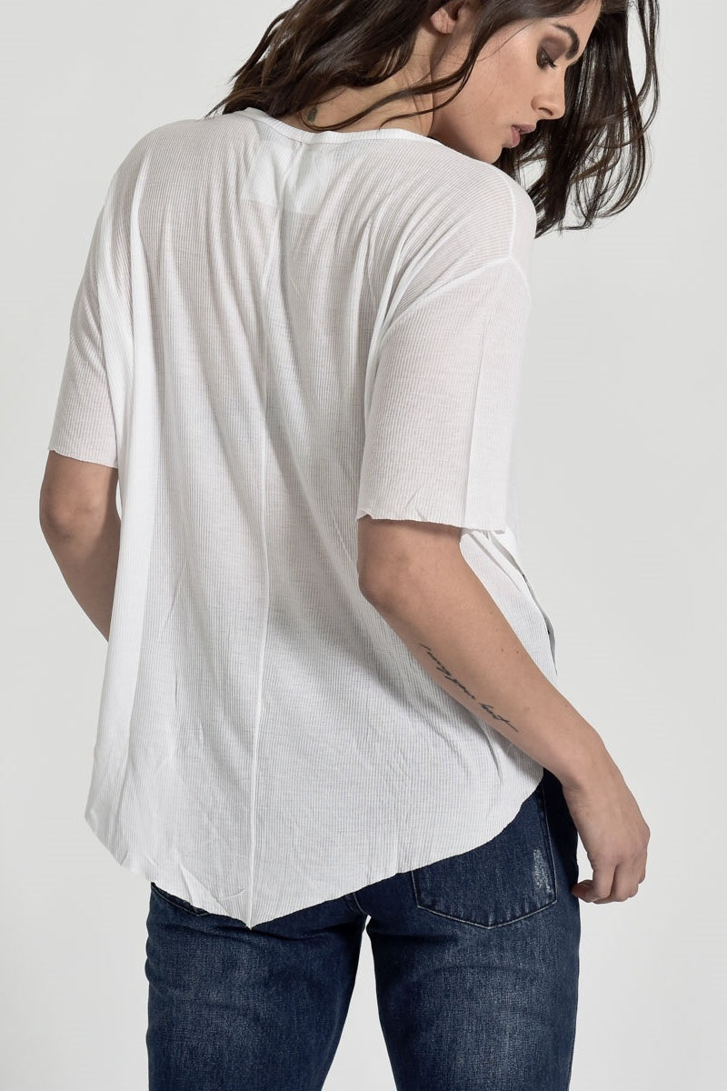 1634bad437 OneTeaspoon BAMBOO COTTON RIBBED TEE · OneTeaspoon BAMBOO COTTON RIBBED TEE  ...