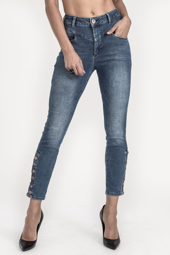 OneTeaspoon CALI BLUE PREACHERS HIGH WAIST SKINNY JEAN