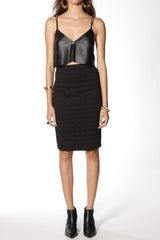 WAFFLE PENCIL SKIRT by Shakuhachi