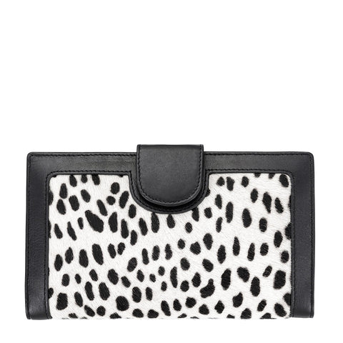 DORIS WALLET SNOW CHEETAH