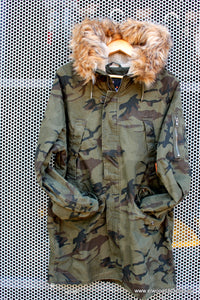 Superdry MENS ROOKIE HEAVY WEATHER PARKA HURRICANE CAMO - Elwood 101