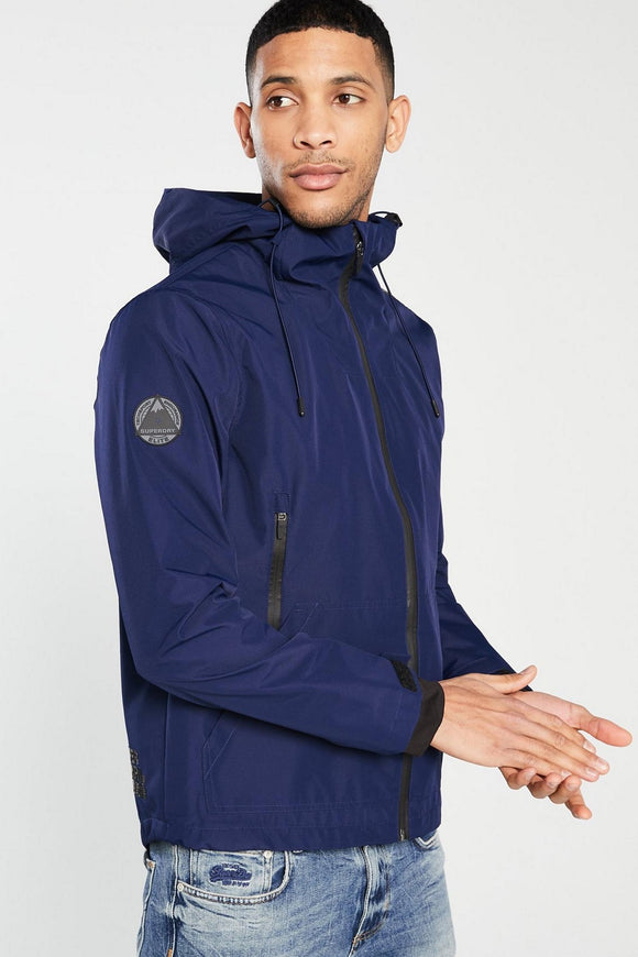 Superdry MENS TECHNICAL ELITE WINDCHEATER INDIGO INK