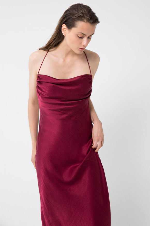 Third Form WATERFALL BIAS SLIP DRESS RUBY.....Save 15% Details Below