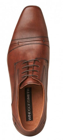 JAMES WHISKY LEATHER SHOE by Windsor Smith