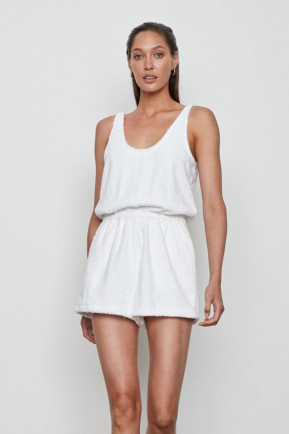 Atoir WOMENS THE JULIET PLAYSUIT - BLANC - Elwood 101