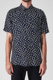 Neuw MENS WEB SHORT SLEEVE SHIRT NAVY - Elwood 101