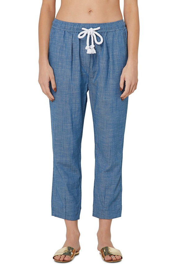 Elwood WOMENS KAYDEN PANT CHAMBRAY BLUE