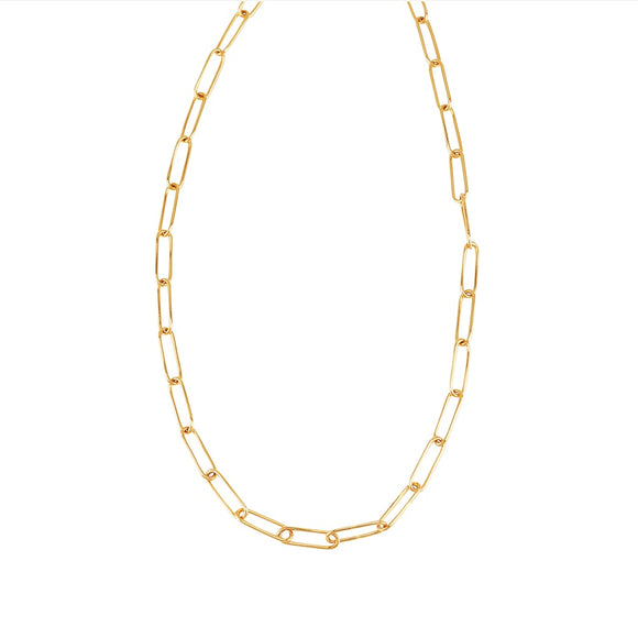 Jolie & Deen WOMENS LINKED CHAIN NECKLACE - GOLD