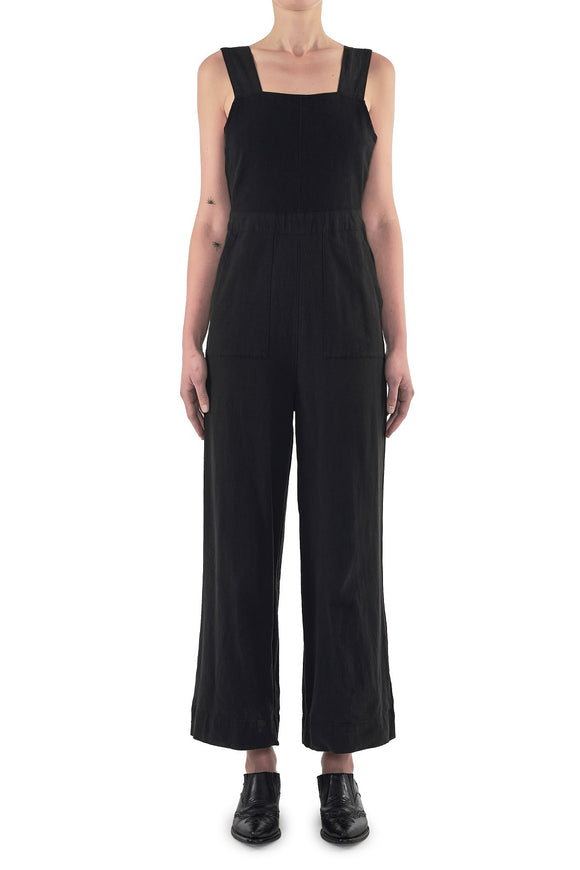 Neuw WOMENS JANE ONEPIECE JUMPSUIT MIDNIGHT BLACK
