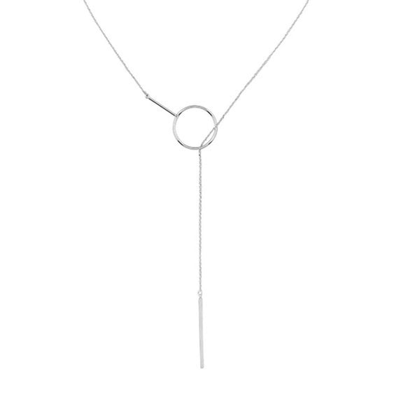 Jolie & Deen AGGY NECKLACE SILVER...FREE POSTAGE Details Below - Elwood 101