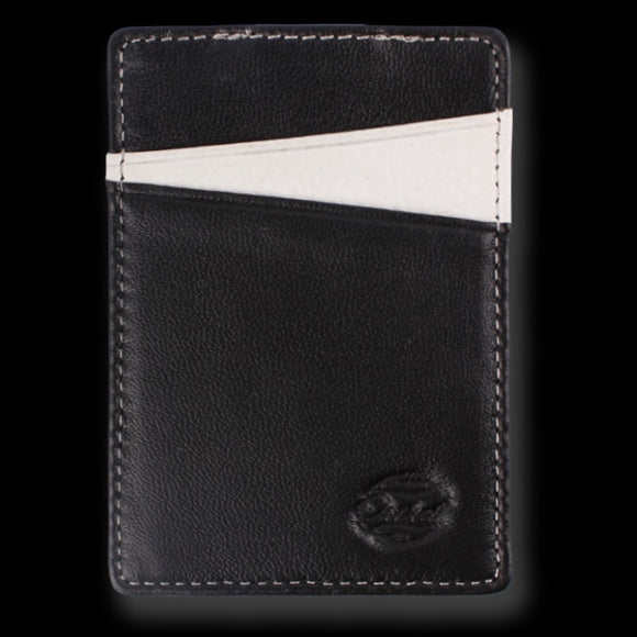 Orchill BOREAL LEATHER WALLET BLACK/WHITE PEBBLE - Elwood 101