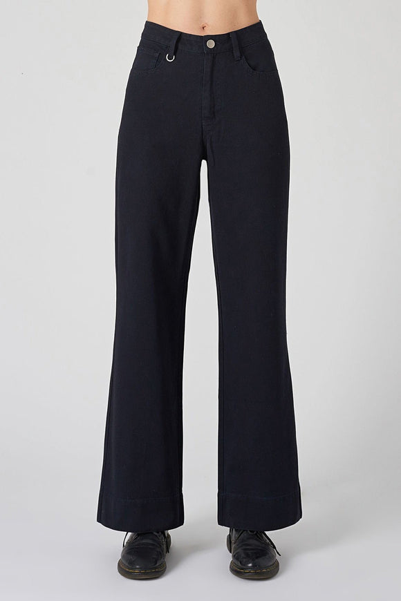 Neuw WOMENS MAGAZINE PANT - BLUE BLACK