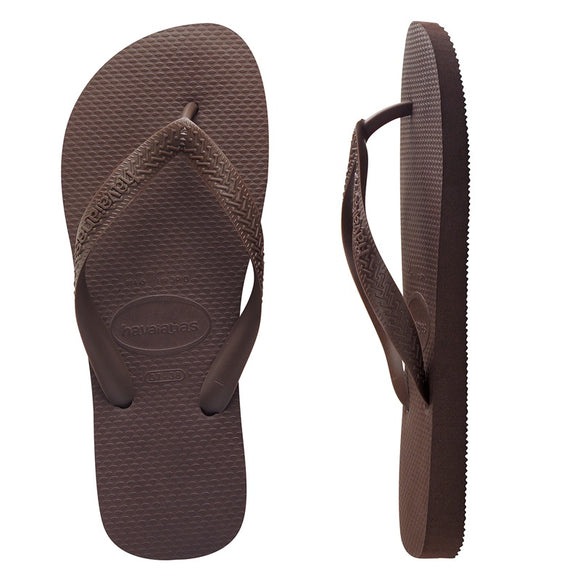 Havaianas MENS TOP BROWN THONGS