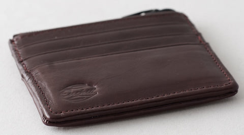 HEMLOCK WALLET CORINTHIAN RED by Orchill