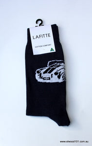 Lafitte CAR FUN SOCKS NAVY