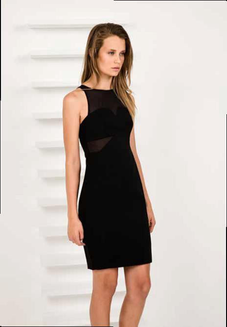 FINDERS KEEPERS NOTHING TO LOSE DRESS BLACK - Elwood 101