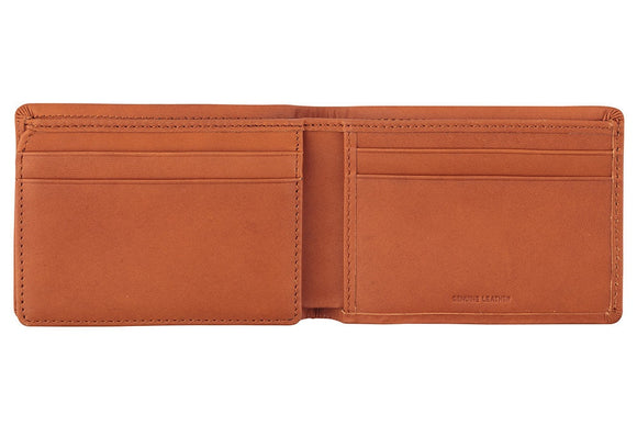 Status Anxiety MENS JONAH WALLET CAMEL LEATHER - Elwood 101