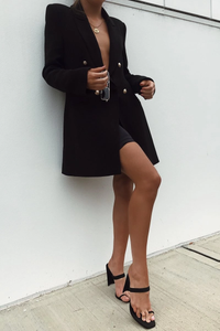 Sundays The Label WOMENS MIND YOURS BLAZER BLACK