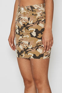 Nena Pasadena WOMENS FIREBRAND HIGH RISE SKIRT