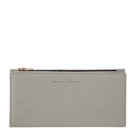 Status Anxiety IN THE BEGINNING WALLET LIGHT GREY inc Free Express Post Australia Wide