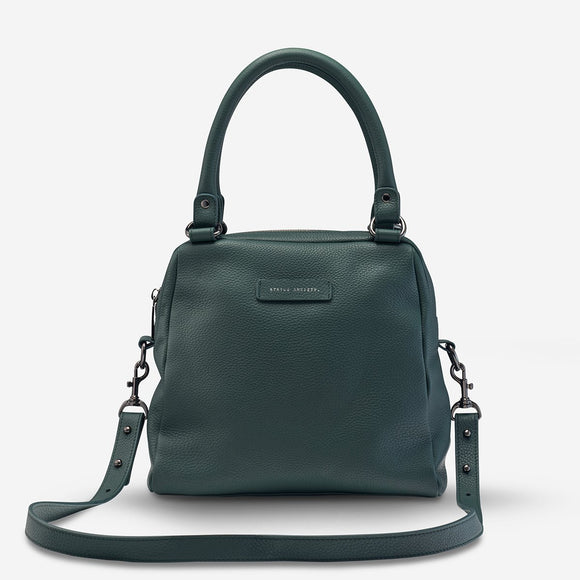 PRE ORDER Status Anxiety WOMENS LAST MOUNTAINS LEATHER BAG GREEN