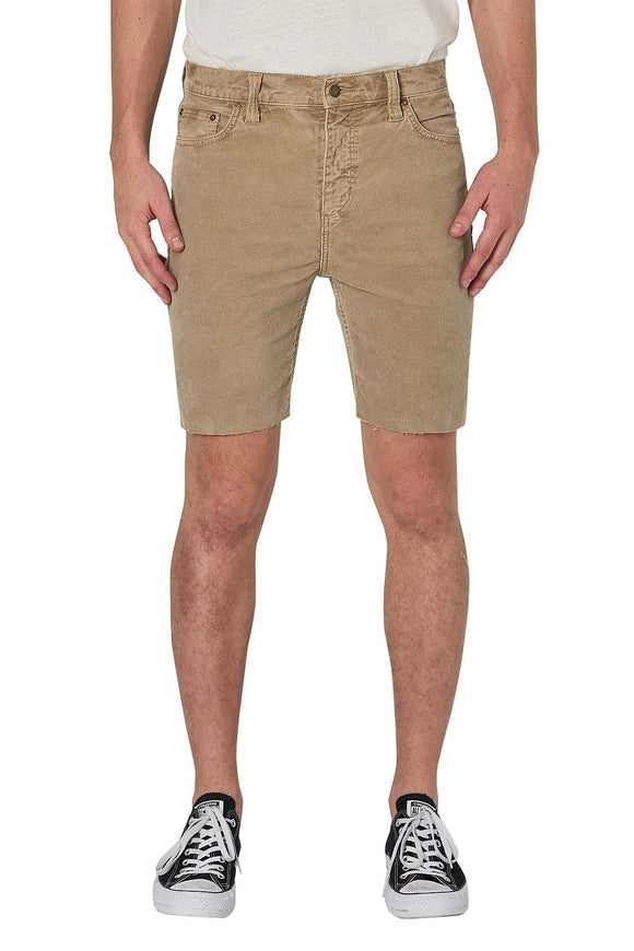 Rollas MENS TIM SLIM CORD SHORTS - SANDMAN