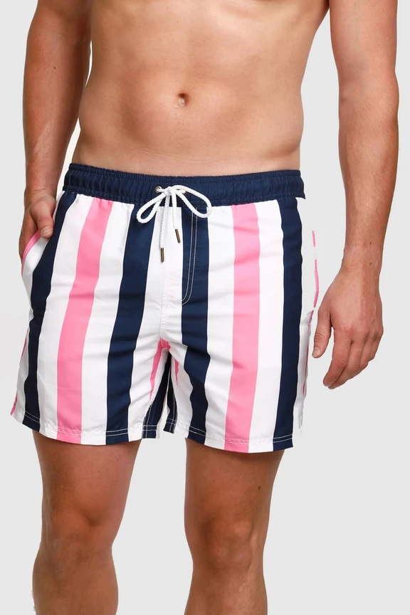 ortc Clothing Co MENS COOGEE STRIPE SWIM SHORTS