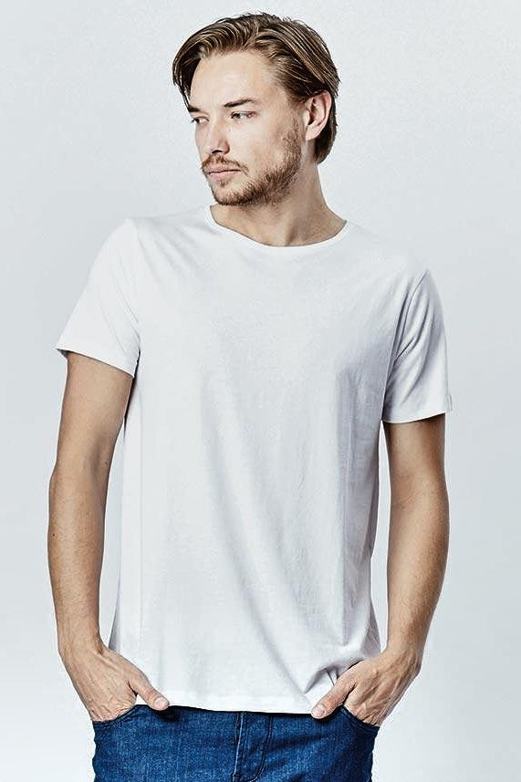 Casa Amuk MENS BASIC CREW NECK TEE WHITE