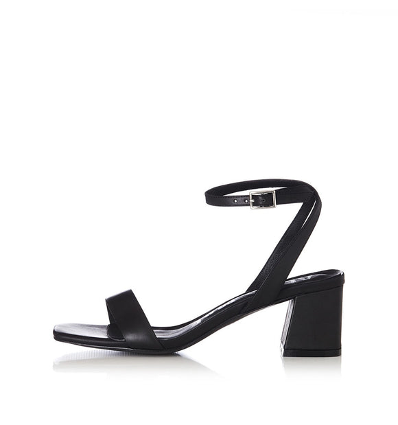 Alias Mae HEIDI BLACK LEATHER HEELS