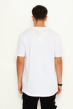 nANA jUDY MENS STERLING TEE WHITE