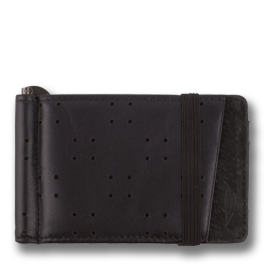 Orchill ARMADA MENS LEATHER WALLET STEALTH BLACK - Elwood 101