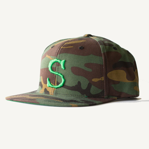 S Hat In Camo - Salty Dames