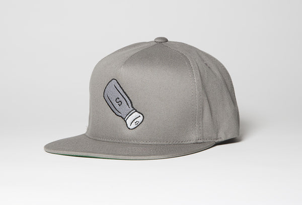 Shaker Snapback Hat In Gray - Salty Dames